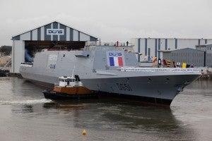 French FREMM frigate