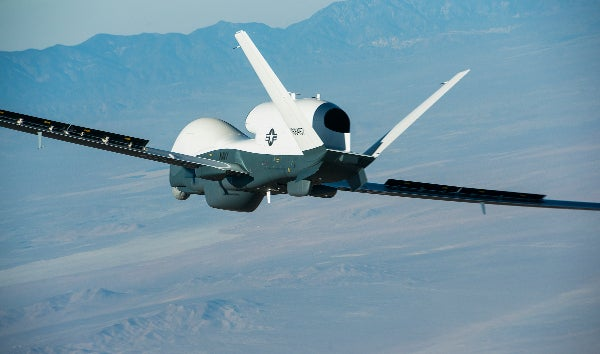 Triton unmanned aircraft system (UAS) aircraft