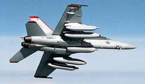 EA-18G Growler aircraft