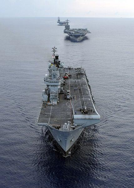HMS Illustrious.