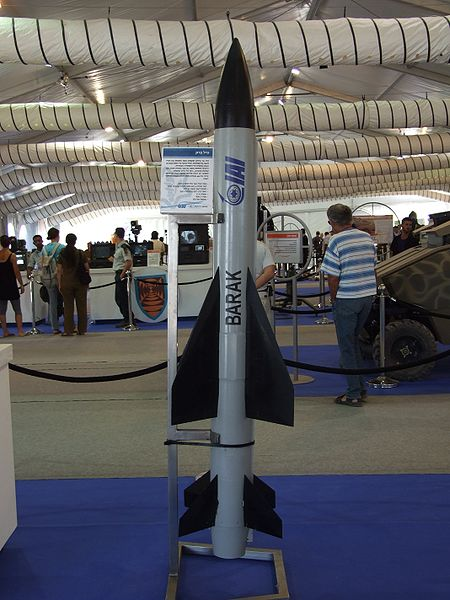 Barak surface-to-air missile
