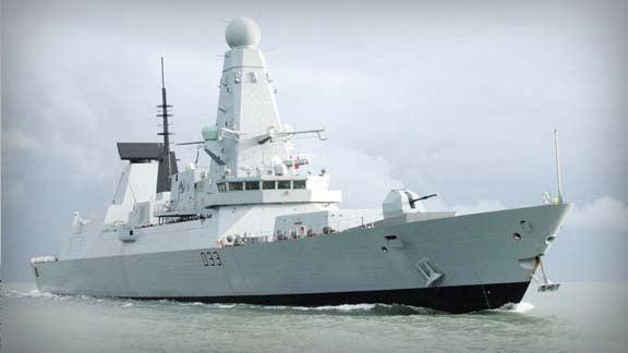Type 45 destroyers, HMS Dauntless
