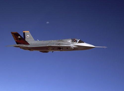 F-35B STOVL variant aircraft
