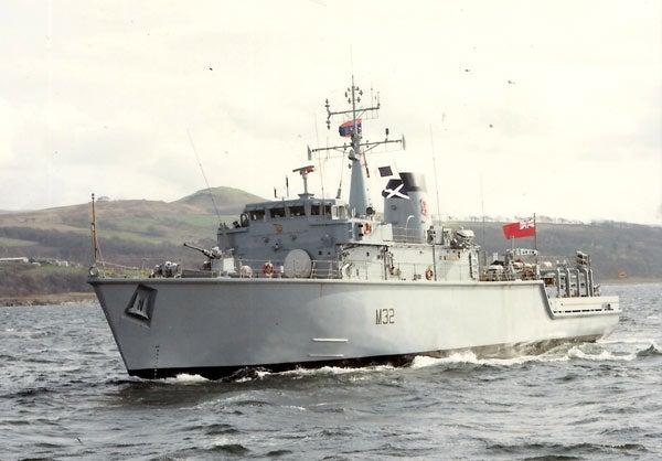 HMS Cottesmore (M32)