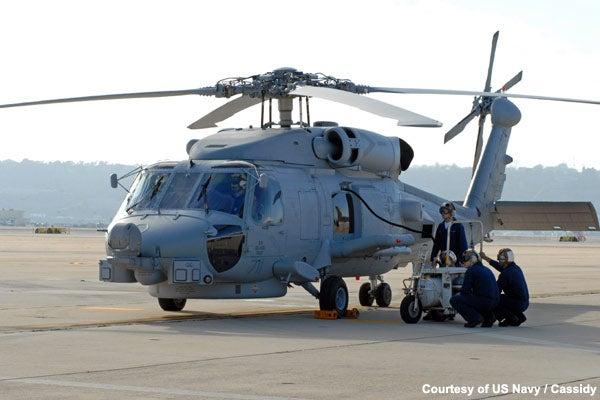 MH-60S aircraft