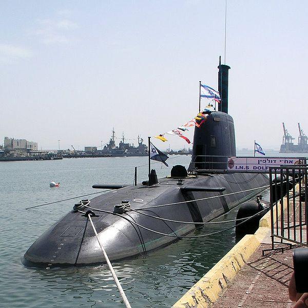 Israel Navy's Dolphin-class submarine