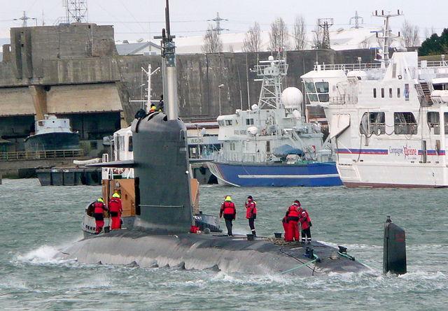 Malaysian Navy's S-BR Scorpene-class submarine
