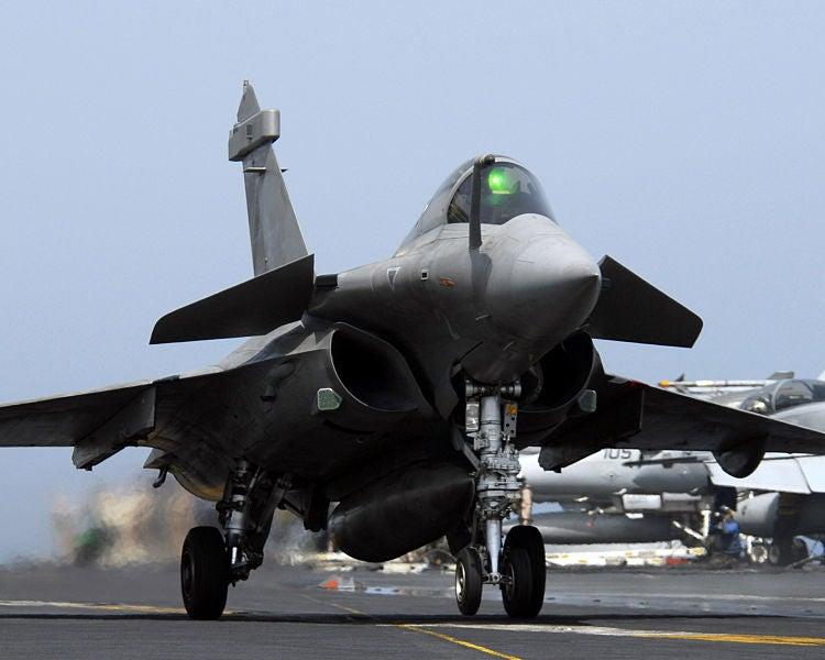 French Navy Dassault Rafale aircraft