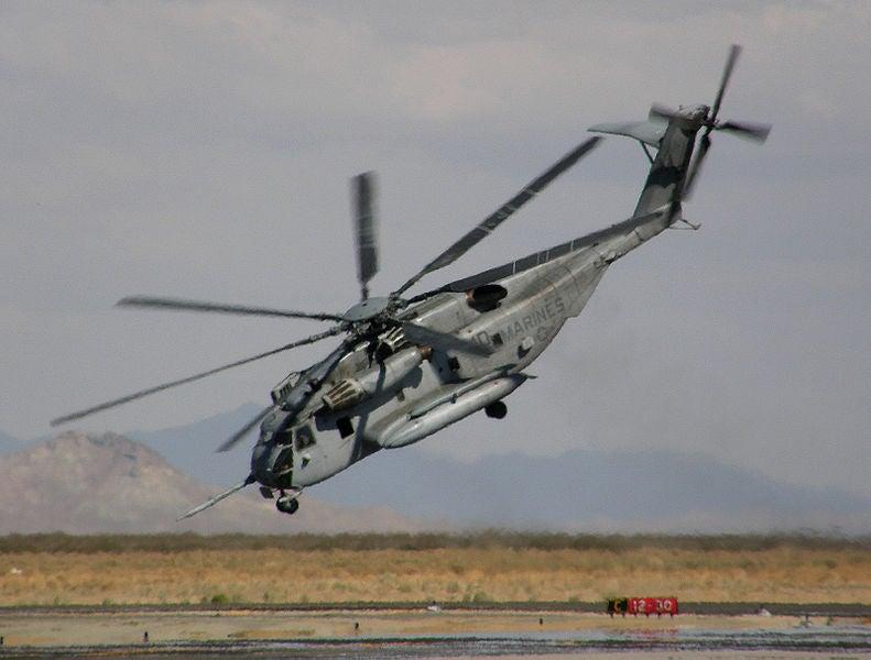 CH-53E aircraft