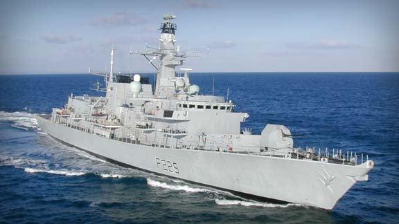 Duke Class Type 23 frigate HMS Lancaster