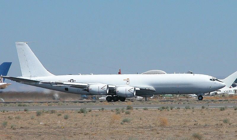 US Navy's E-6B Mercury aircraft