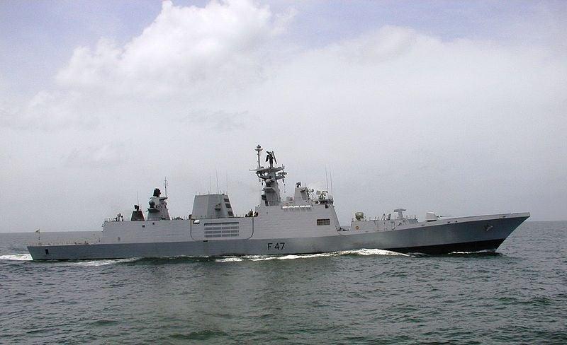 INS Shivalik frigate
