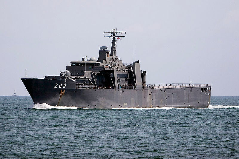 Royal Thai Navy's Endurance-class landing platform dock ship, HTMS Angthong (LPD-791)
