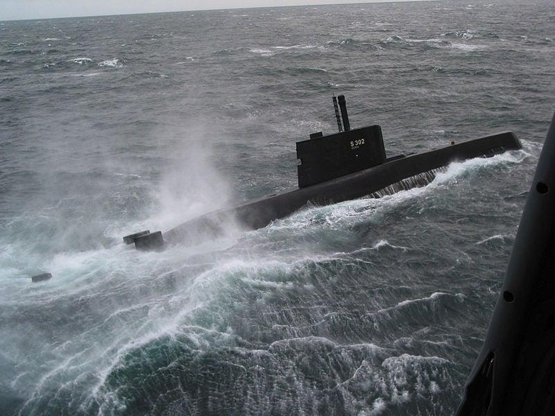 Royal Norwegian Navy's Ula-class submarine, Utstein,