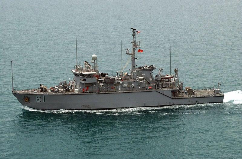 Osprey-class coastal minehunting ship