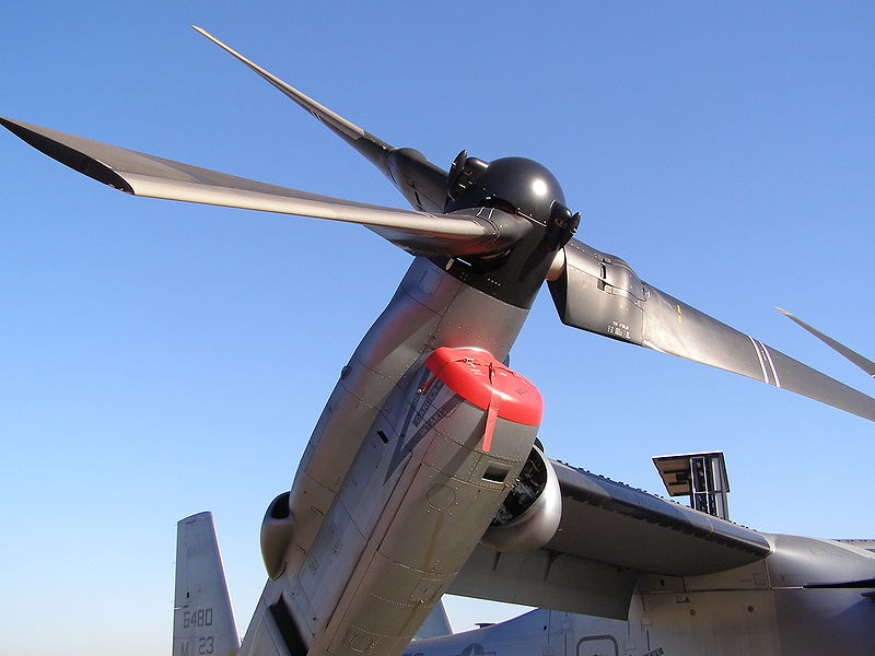 MV-22 Ospray aircraft