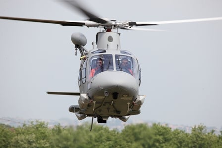 AW109 Power helicopter