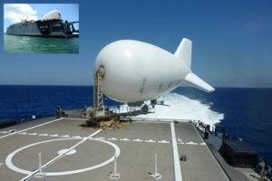 Aerostat radar