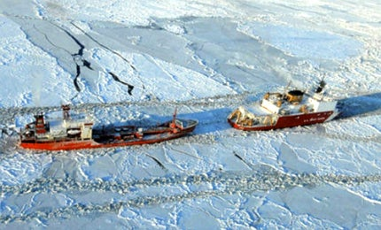 Canada, the US, Russia and Norway could all benefit from the Arctic