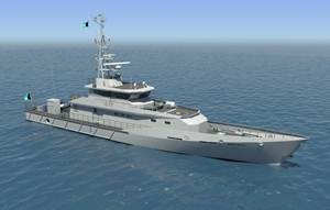 Royal Bahamas Defence Force's patrol vessel