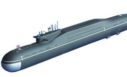 The Borei Class is intended to replace the aging Delta III and Typhoon Class submarines