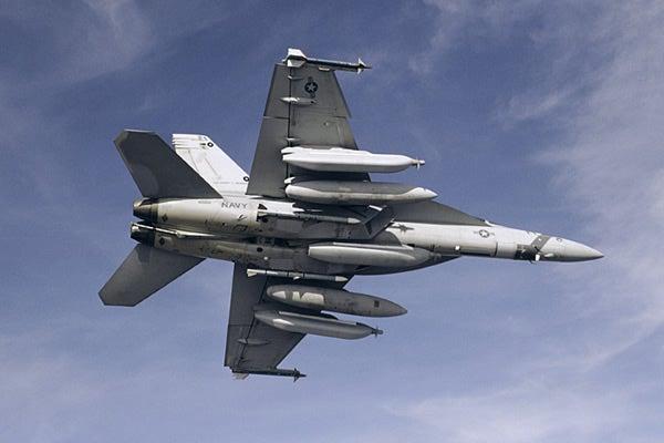 EA-18G Growler aircraft,