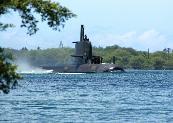 Australian Navy's collins class submarine