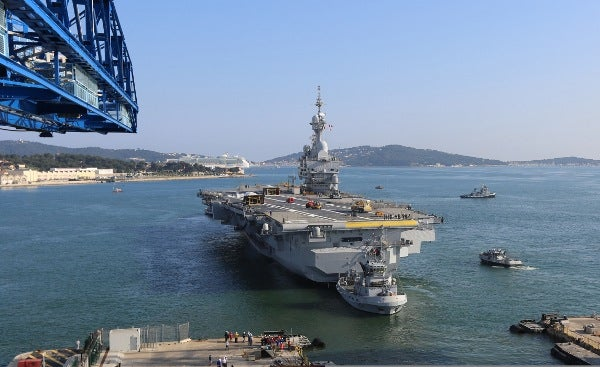 Charles de Gaulle (R91) aircraft carrier