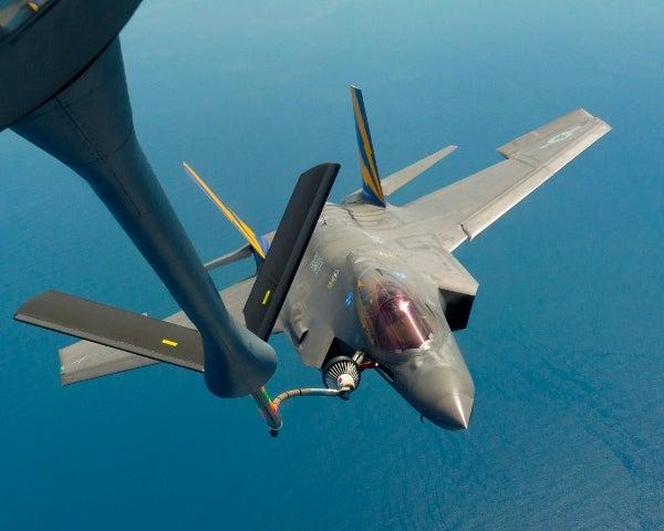 F-35C aircraft