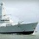 Royal Navy destroyer HMS Dauntless