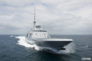 Moroccan Navy's FREMM ship