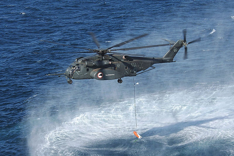 MH-53E helicopter