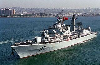HARIBING (DDG 112), Luda II Class Destroyer,