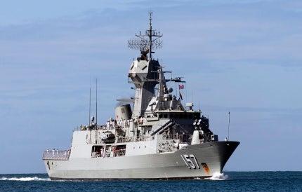 HMAS Perth Anzac Class frigate