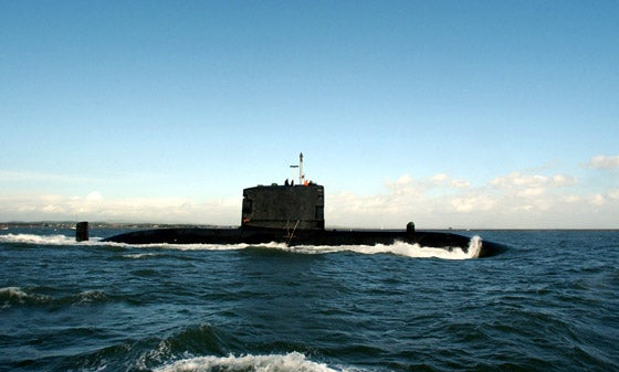 Canadian Navy's Victoria-class submarine