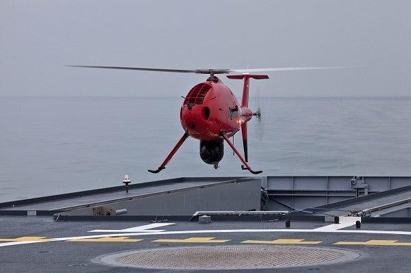 Schiebel's Camcopter UAV
