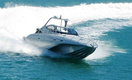 Bladerunner has a remarkable top cruising speed of 65 knots