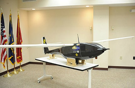 It acts as an alternative for conventionally-powered UAVs