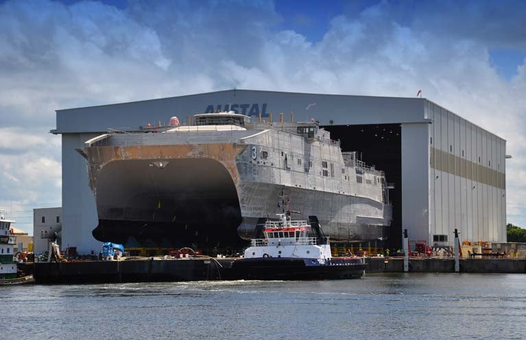 USNS Millinocket (JHSV 3) has been launched