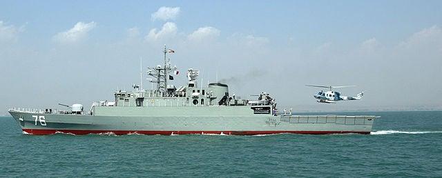 Jamaran frigate