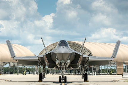 US Navy has taken delivery of the first F-35C Lightning II joint strike fighter (JSF)