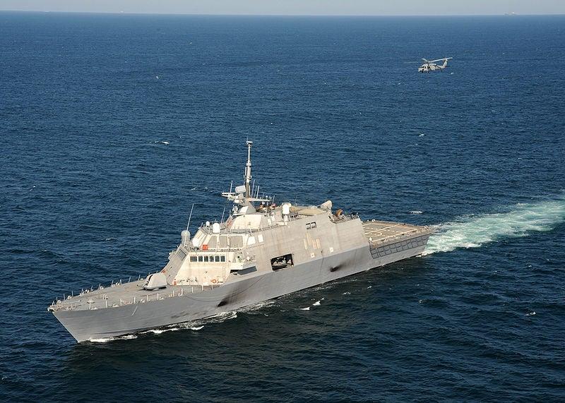 US Navy's Freedom-class frigate