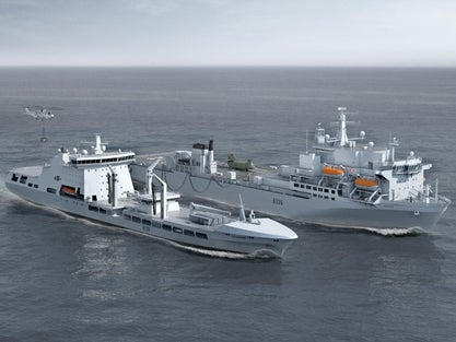 Royal Navy MARS tankers