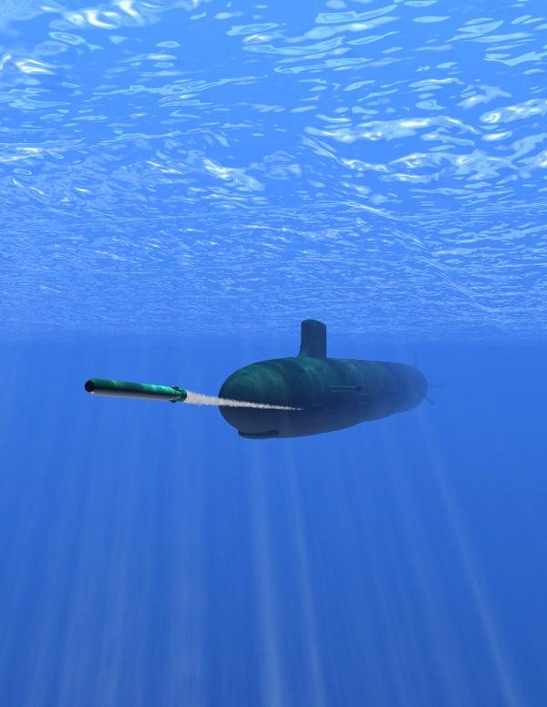 MK 48 heavyweight torpedo