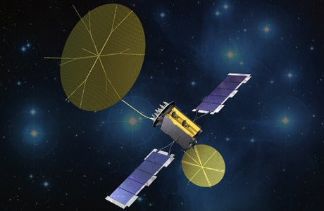 MUOS-2 satellite