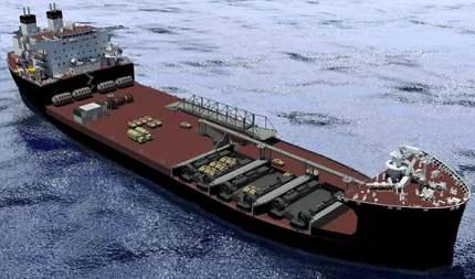 Mobile Landing Platform (MLP) Ship