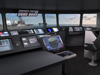 Class A NAUTIS full mission bridge (FMB) simulator