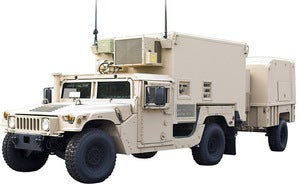 Smiths Detection's truck-mounted mobile meteorological system