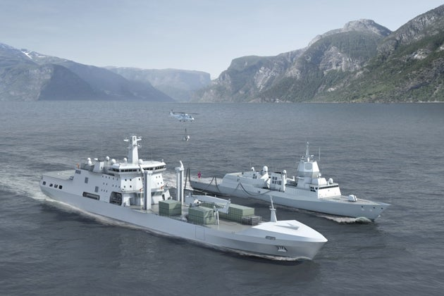 Norwegian Logistics and Support Vessel