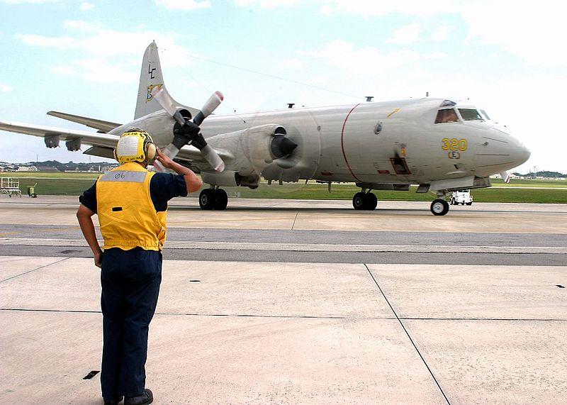 P-3C aircraft